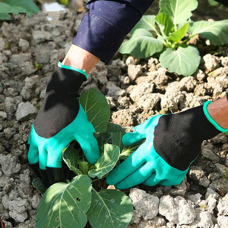 Садовые перчатки с когтями Garden Genie Gloves - фото 2
