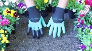 Садовые перчатки с когтями Garden Genie Gloves - фото 3
