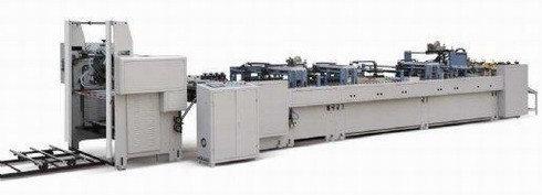 ZB-950B - машина для производства заготовок для бумажных пакетов