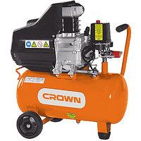CT 36028 CROWN Компрессор воздушный 195 л/мин, 2,0 л.с., 8 бар, 25 л