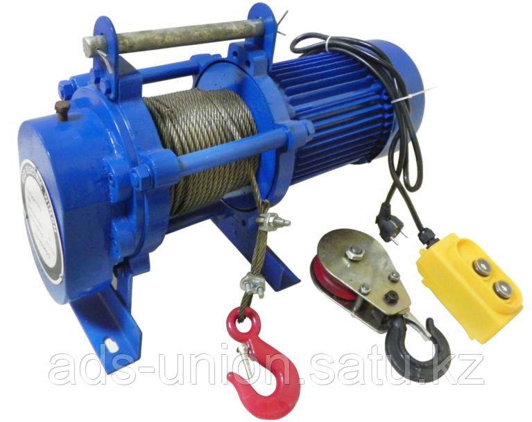 Лебедка электрическая KCD400 гп 400кг/800кг (H=60м/30м) 220В
