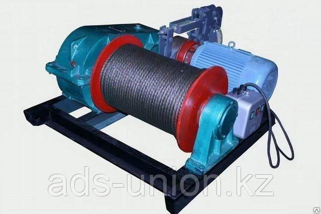 Лебедка электрическая ЛМТ гп 1тн канатоемкость 120 м, фото 2