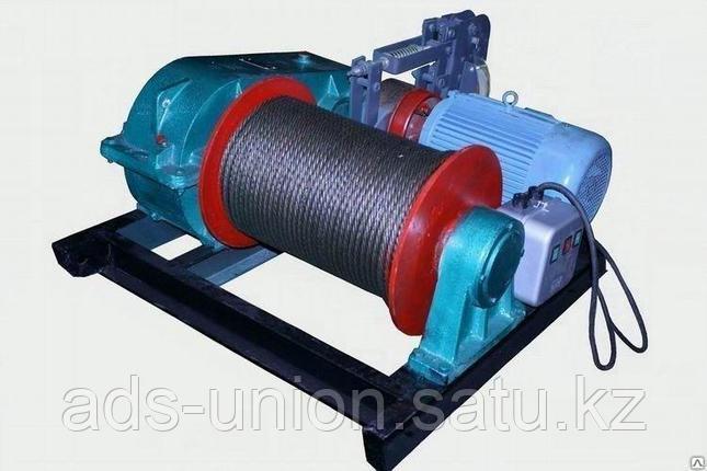 Лебедка электрическая ЛМТ гп 10тн канатоемкость 450м, фото 2