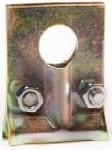 Промежуточный зажим ЗП-8-1 для кабеля ОК/Т типа 8 с троссом или стеклопрутком  (разрушающая нагрузка 2Кн)