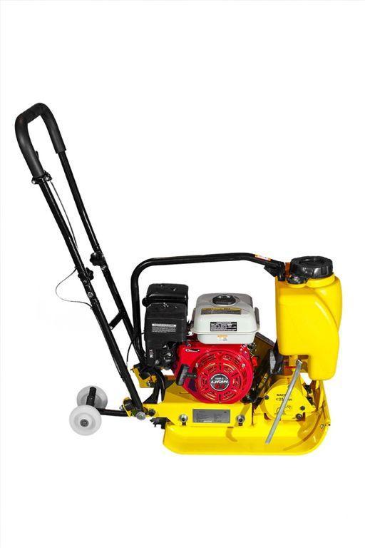 Виброплита ХЗР-100 (двигатель Lifan) с бачком для воды .
