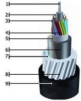 Кабель волоконно-оптический ОКНГ(А)-HF-М4П-А24-0.5