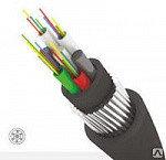 Кабель волоконно-оптический ОКНГ-Т-С2-0.4 (В/П2)  DROP-Cable кабель с двумя стеклонитями с полимерным покрытие