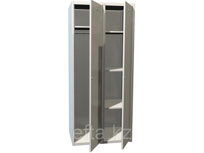 Шкаф для раздевалки металлический  LS(LE)-21-80U