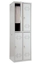 Шкаф для одежды металлический  LS(LE) 22