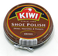 Крем для обуви KIWI коричневый