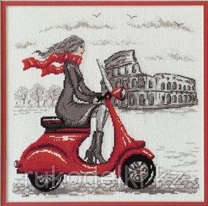 """Набор для вышивания крестом """"Рим"""" по рисунку О. Куреевой"""