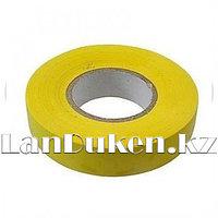 Изолента ПВХ, 15 мм * 10 м желтая 88790 (002)