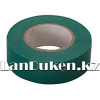 Изолента ПВХ 15 мм * 10 м зеленая 88791 (002)