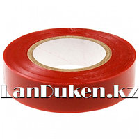 Изолента ПВХ 15 мм * 10 м красная 88789 (002)