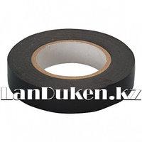 Изолента ПВХ 15 мм * 10 м черная 88788 (002)