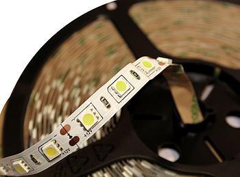 Светодиодная лента 60SMD5050, IP20, 12W, белого свечения 10000-12000 K, 2х5м