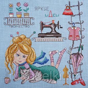 """Набор для вышивания крестом """"Яркие идеи"""" по рисунку О. Куреевой"""