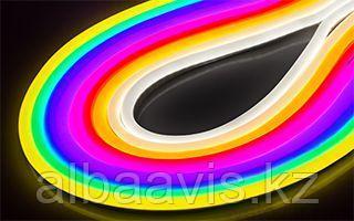 Неоновый шнур, 220 в неон холодный, флекс, круглый неон, 360 градусов. Все цвета. 16 мм