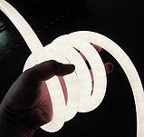 Неоновый шнур, 220 в неон холодный, флекс, круглый неон, 360 градусов. Все цвета. 16 мм, фото 7