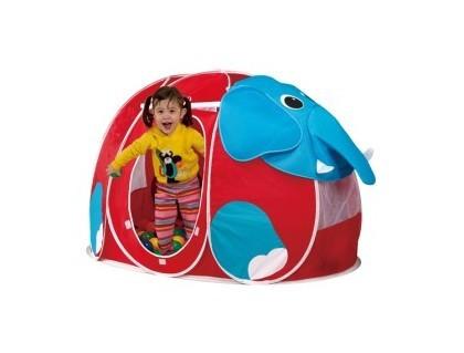 Детский игровой дом + 100 шаров Calida Слоник