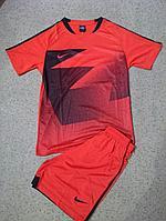 Форма футбольная Nike (красная)