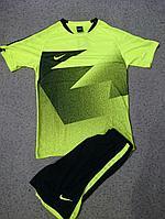 Форма футбольная Nike(салатовая)