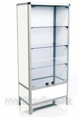 Шкаф двухстворчатый, металлический, фото 2