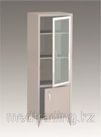 Шкаф металлический с двумя отделениями, фото 2