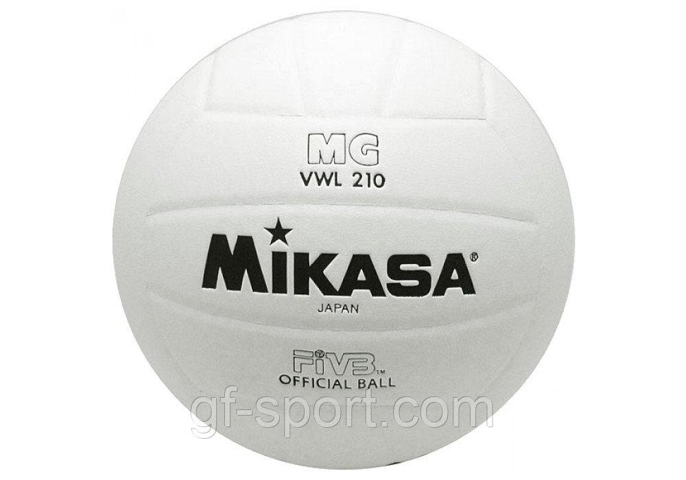 Мяч волейбольный Mikasa VWL210, белый