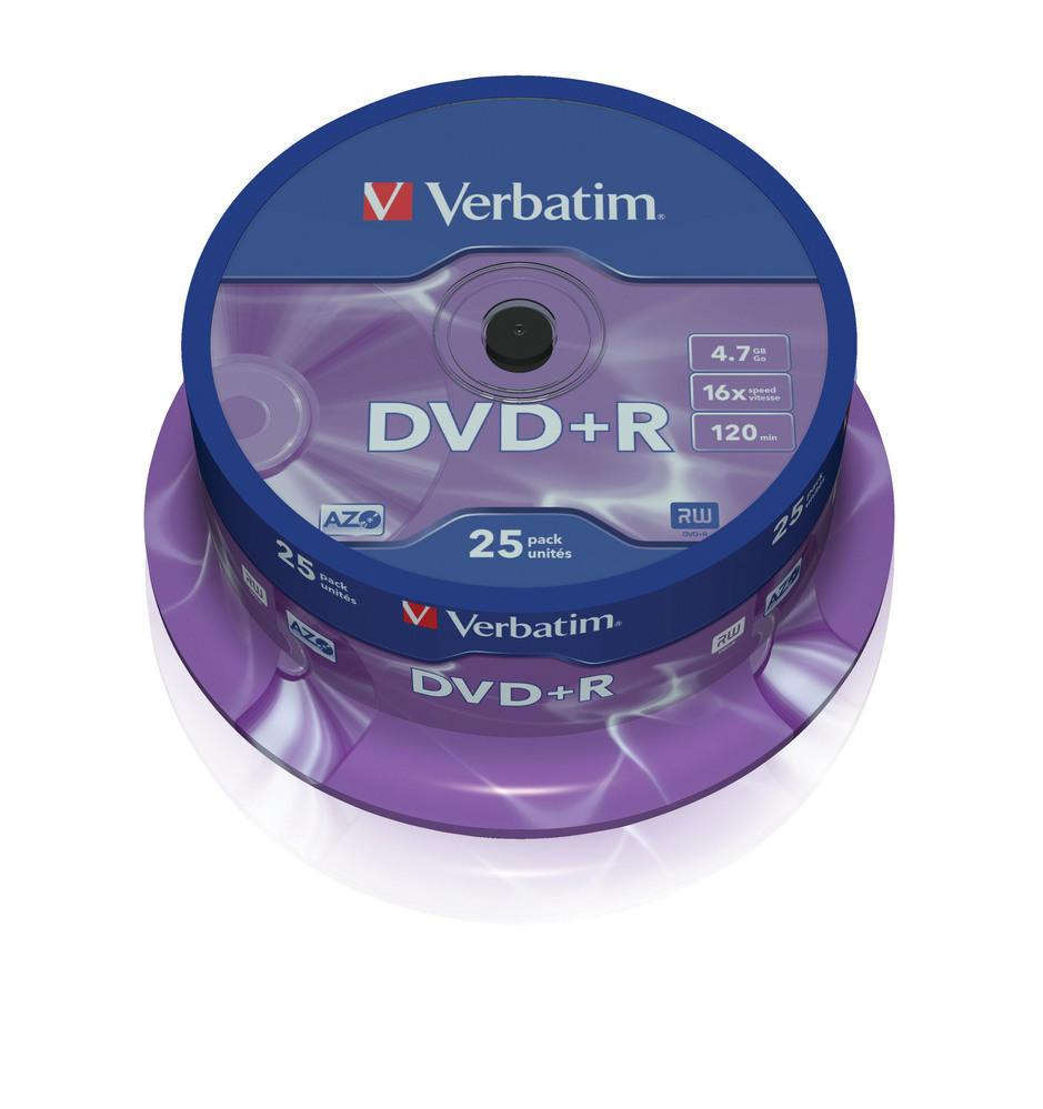 DVD+R 4.7GB Verbatim