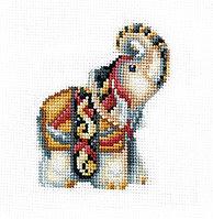 """Набор для вышивания крестом """"Статуэтки.Слон"""""""
