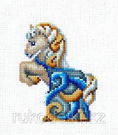 """Набор для вышивания крестом """"Статуэтки.Лошадь"""""""