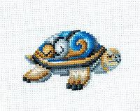 """Набор для вышивания крестом """"Статуэтки.Черепаха"""""""