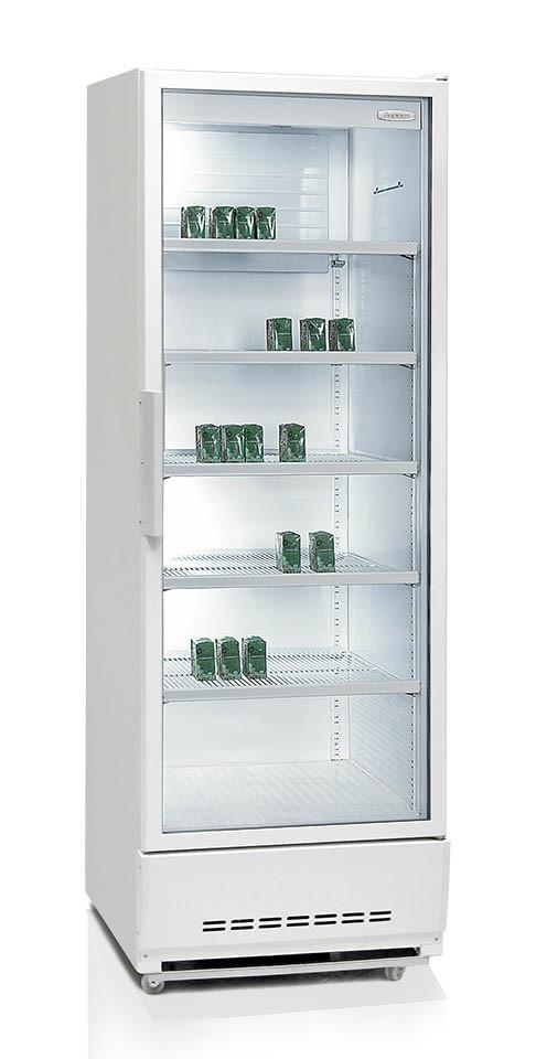 Витринный холодильник Бирюса-460Н-1/460
