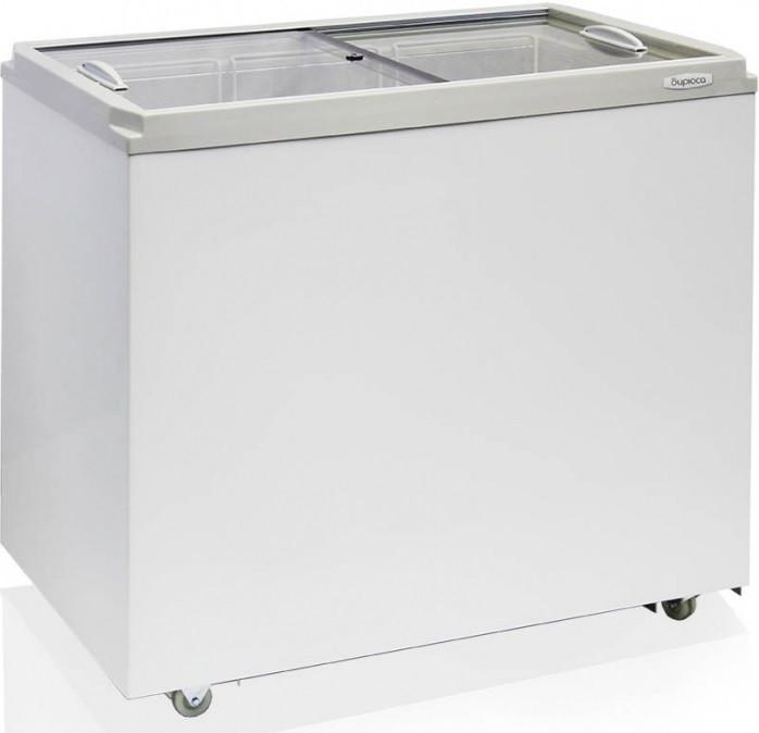 Морозильный ларь Бирюса-260VZ со стеклянной крышкой