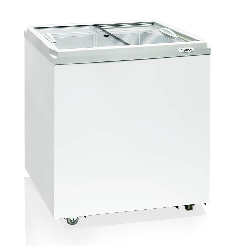 Морозильный ларь Бирюса-200VZ со стеклянной крышкой