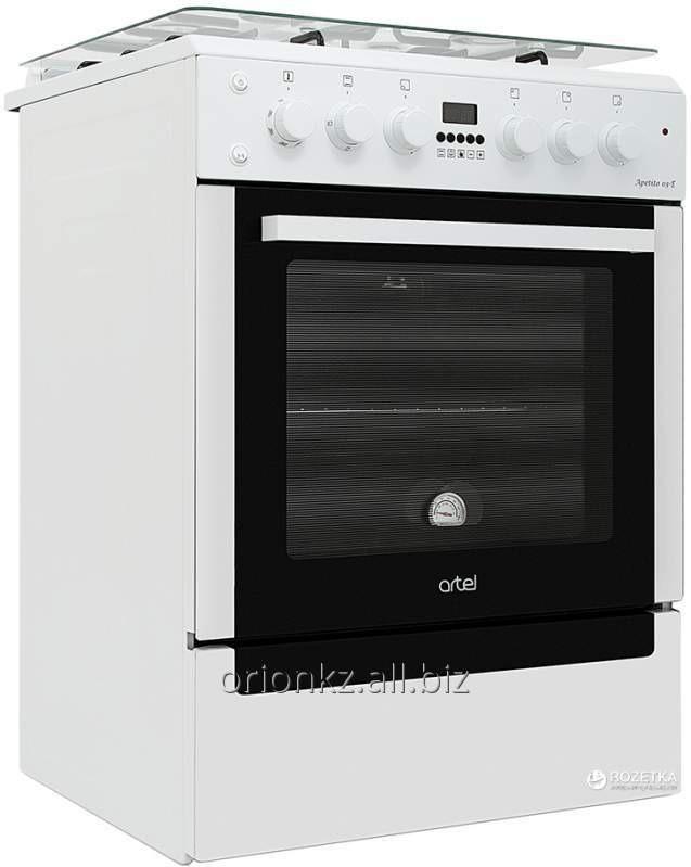 Плита газовая APETITO (60X60) базовая белая