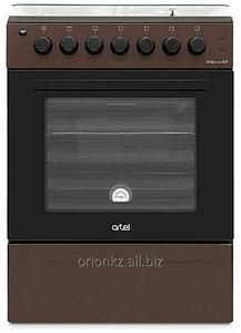 APETITO 01-Е (60X60) с позж подст эл духовка с вертелом (коричневый)