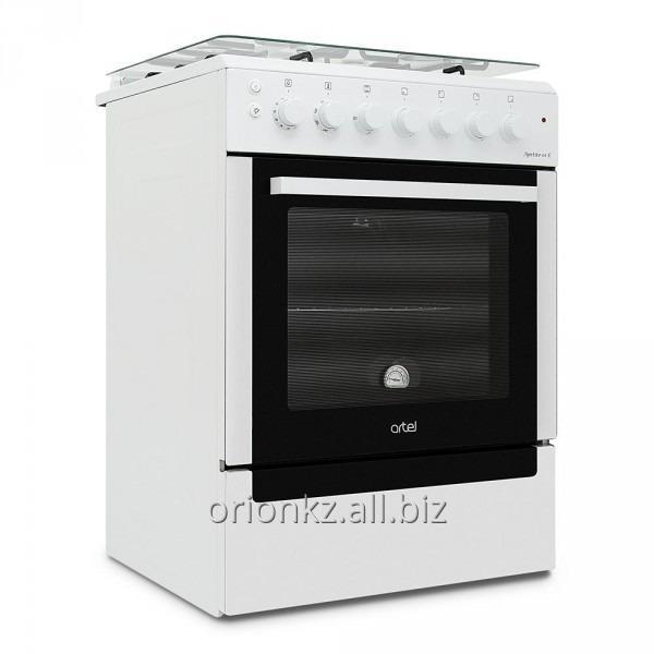 APETITO 01-Е (60X60) с позж подст эл духовка с вертелом (белый)