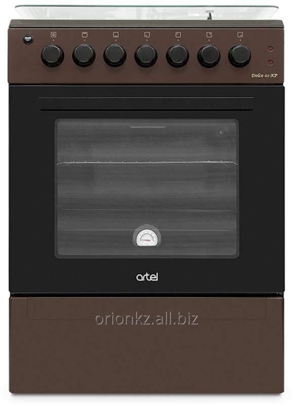 DOLCE 01-E-EX ( 60 Х60) 2 +2 ,эл духовка с подст (коричневый)
