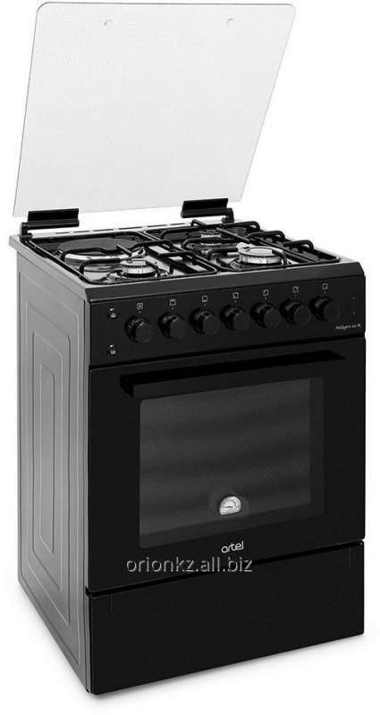 DOLCE 01-E-EX ( 60 Х60) 2 +2 ,эл духовка с подст (черный)