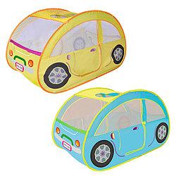 Детский игровой домик Ching Ching Fashion Car + 100 шаров 130x70x80 см