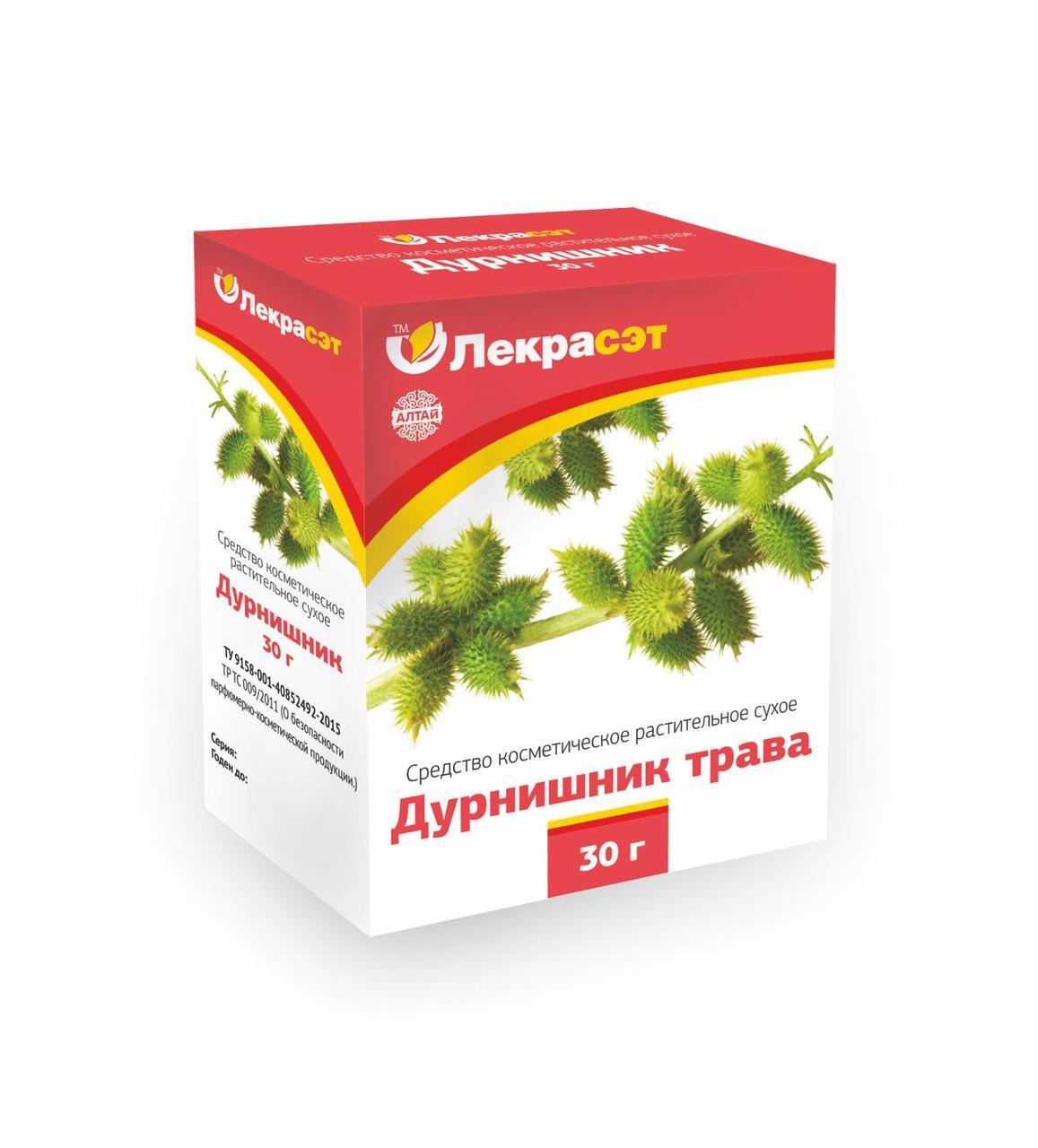 Дурнишник, трава, Средство косметическое для наружного применения, 30гр