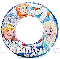 """Надувной круг """"Холодное сердце"""" INTEX 56201 (51 см)"""