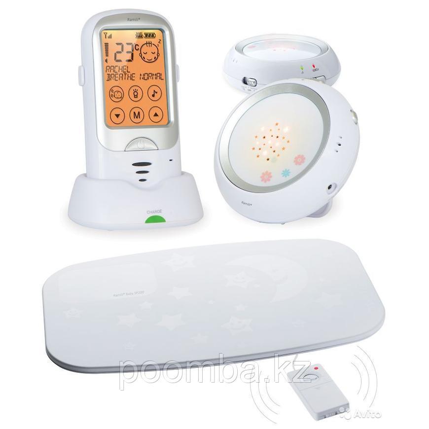 Радионяня Ramili Baby с двумя детскими блоками и монитором дыхания