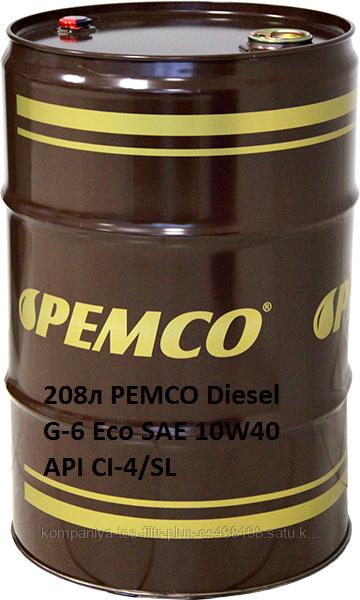 PEMCO Diesel G-6 Eco SAE 10W40  API CI-4/SL