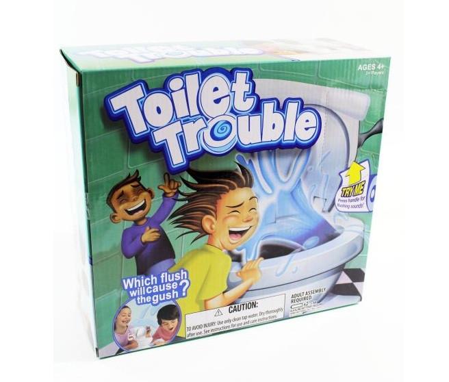 Беспокойный туалет