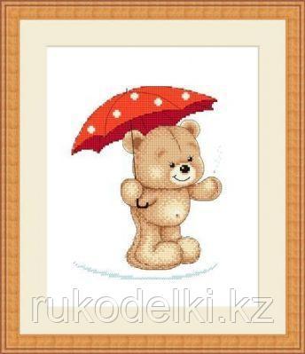"""Набор для вышивания крестом """"Грибной дождик"""""""
