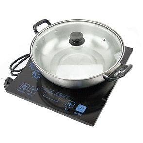 Индукционная плита портативная на 1 конфорку + кастрюля в подарок, фото 2