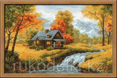 """Набор для вышивания крестом """"Осенний пейзаж"""""""